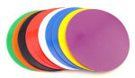 Colored soft night guard material