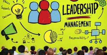 leading or managing graphic