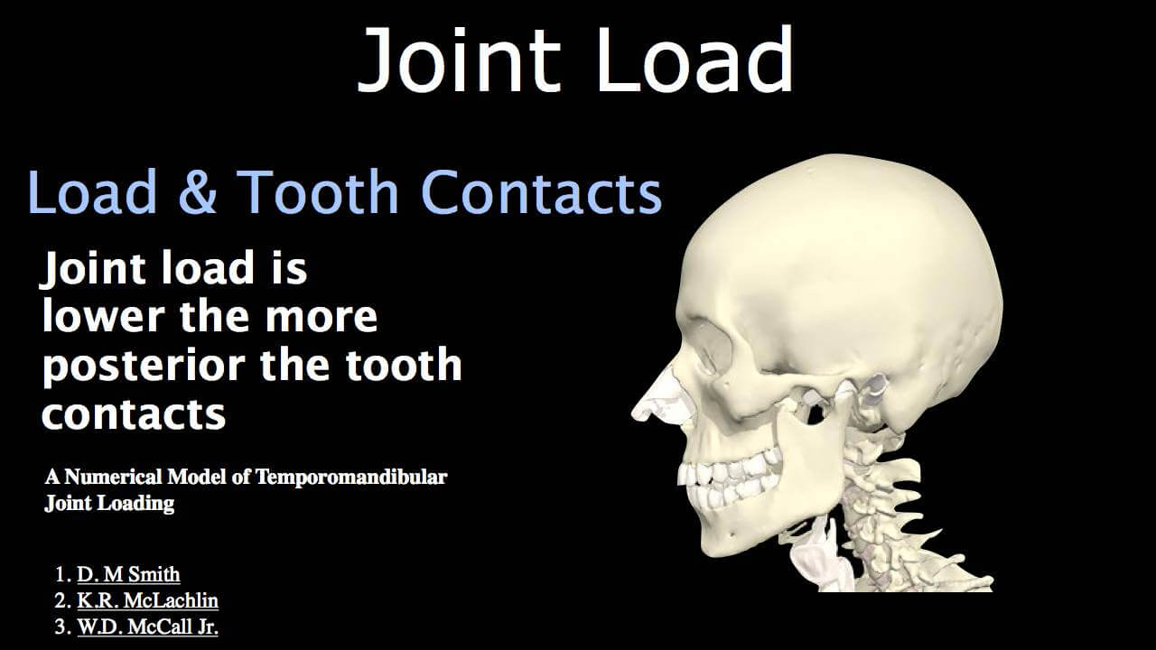 Joint Load & Occlusal Contacts: Part One