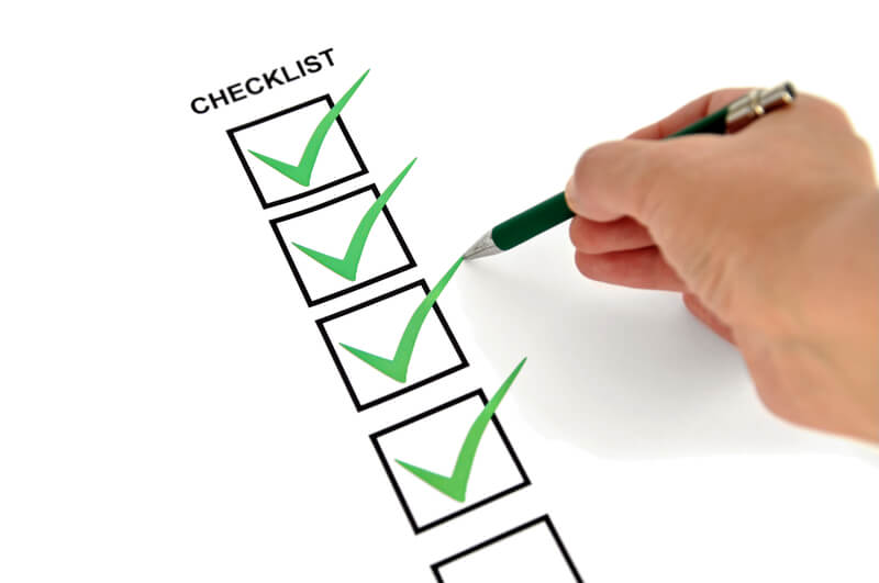 Checklists In The Dental Office